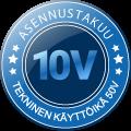 Asennustakuu 10 vuotta – Suokon Lokapalvelu